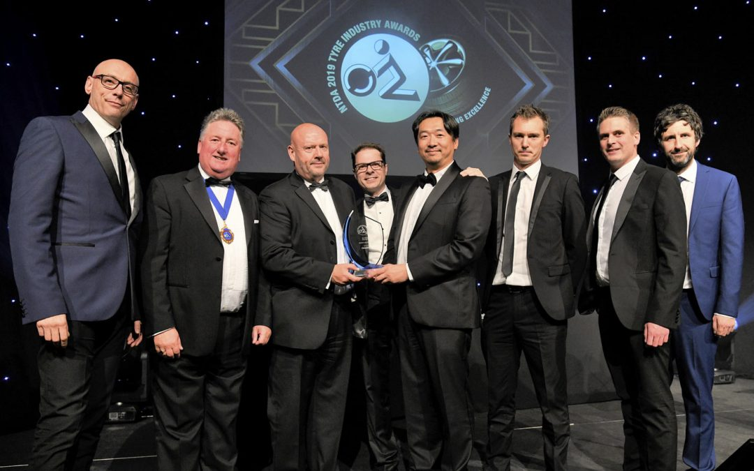 Compilator gives out award on the NTDA WHOLESALER AWARD